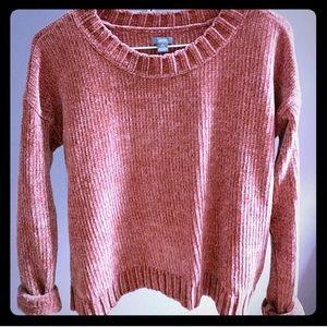 Aerie Chenille Sweater - Rose